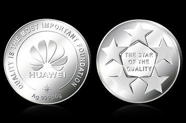 定制金银纪念章 币如何传承企业文化?