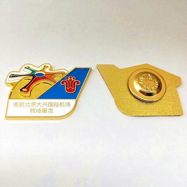 南航北京国际大兴机场徽章定制