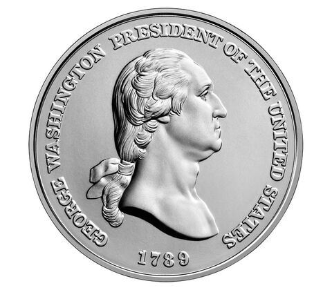 乔治华盛顿总统银牌
