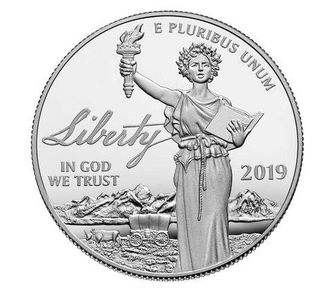 2019年独立宣言的序言-白金精制币-自由