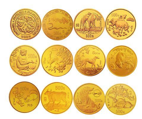定制十二生肖纪念纪念金币有哪些价值