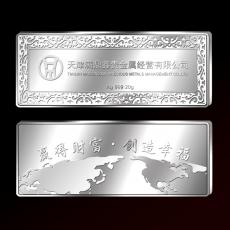 天津满鼎鑫贵金属纪念银条