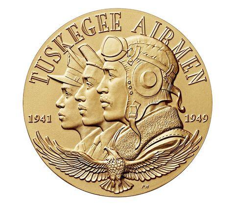 塔斯基吉航空兵铜牌1.5英寸