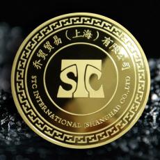 乔贸贸易(上海)定制金币