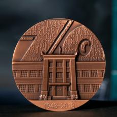 人民日报1948纪念铜章
